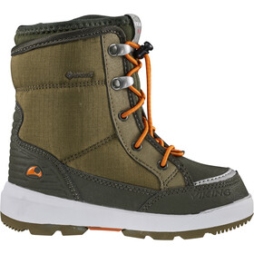 Viking Footwear Fun GTX Shoes Kids khaki/hunting green